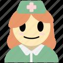 nurse, woman, avatar, medical, health