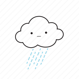 cloud, rainy icon