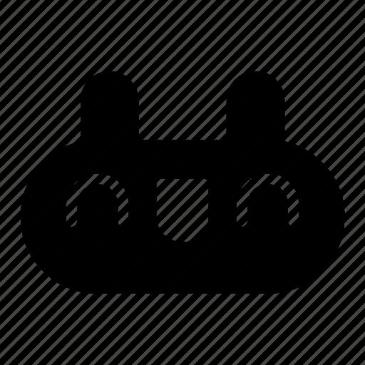 bunny, cute, emoji, emotions, face, happy, rabbit icon