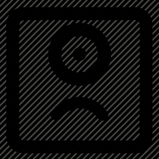 emoji, emoticon, emotion, expression, face, oneeye, sad icon