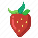 berry, food, healthy, strawberry, sweet icon