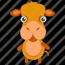 animal, goat, grass, herviouros, pet, sheep, zoo icon