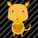 animal, cow, grass, land, milk, pet, zoo icon