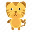animals, cute, panthers, pet, tiger, wild, zoo icon