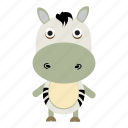 african, animals, cute, pet, wild, zebras, zoo icon