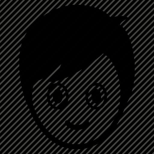 avatar, boy, emotion, face, happy, man, surprise icon