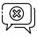 cyber, chat, attack, mask, thief, closed, hacker icon