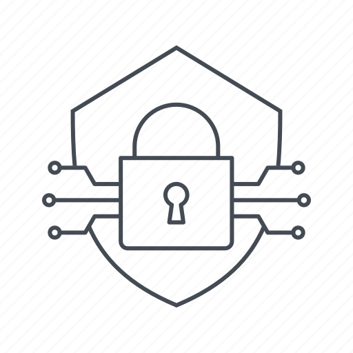 criminal, cyber crime, hacker, hacking, sheild, threat, virus icon