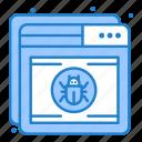 antivirus, protection, shield, web icon