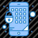encryption, lock, mobile