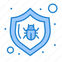 antivirus, bug, protect, security icon