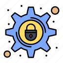 crime, cyber, lock, security, setting