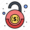 bank, financial, robbery, security icon