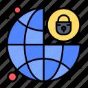 global, lock, padlock, protection, security