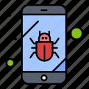 bug, mobile, security, spy