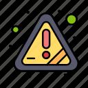 alert, attention, error, warning