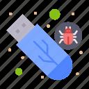 drive, malware, storage, usb, virus