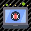 bug, device, laptop, virus