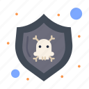danger, protect, security, shield icon