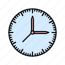 crime, cyber, clock, cyber clock, security icon