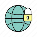 crime, cyber, security, world icon, world security