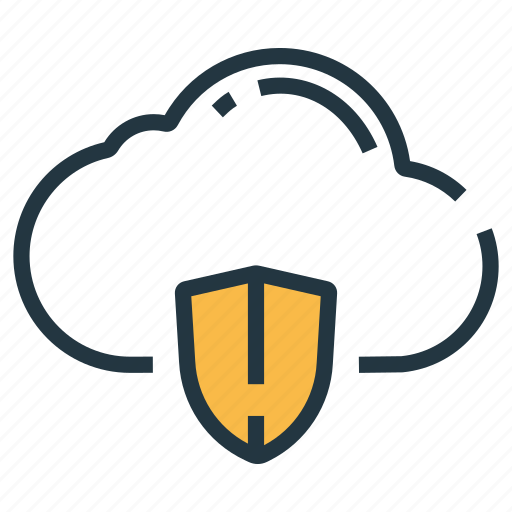 cloud, cloud protection, guarantee, protection, safety, security, shield icon