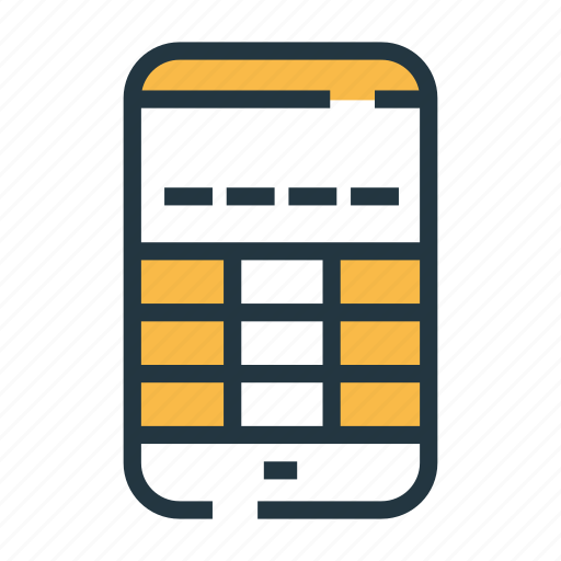 mobile passcode, passcode, phone, protection, safety, security, smartphone icon