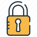 encryption, lock, privacy, protect, protection, safety, safety on icon