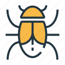 bug, computer, internet, malware, security, threat, virus icon