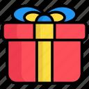 gift, present, box, celebration, decoration, surprise, delivery