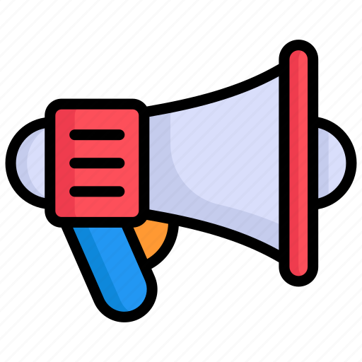 Announcement, megaphone, marketing, advertising, promotion, loudspeaker, bullhorn icon - Download on Iconfinder