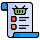 shopping list, checklist, list, todo list, ecommerce, wish list, product list