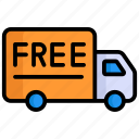 free delivery, delivery, truck, free shipping, delivery truck, free, transport