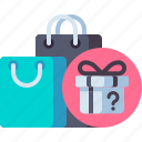 buy, free, get, item, mystery icon