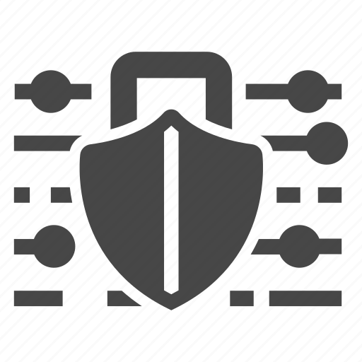 cyber security, protection, security, shield icon