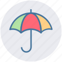 insurance, investment, protection, rain, security, umbrella icon