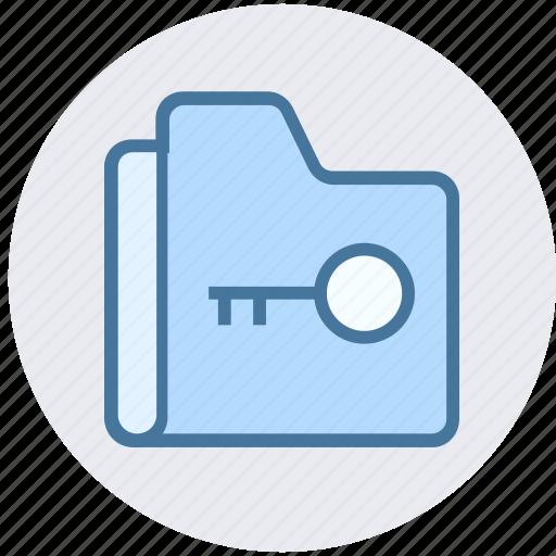 archive, data, folder, key, security, storage icon
