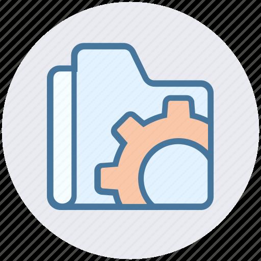 folder, folder settings, gear, options, preferences, settings icon