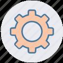 cog, cogwheel, gear, options, security, setting icon