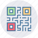 bar code, barcode, code, qr, qr-code, scan code, security icon
