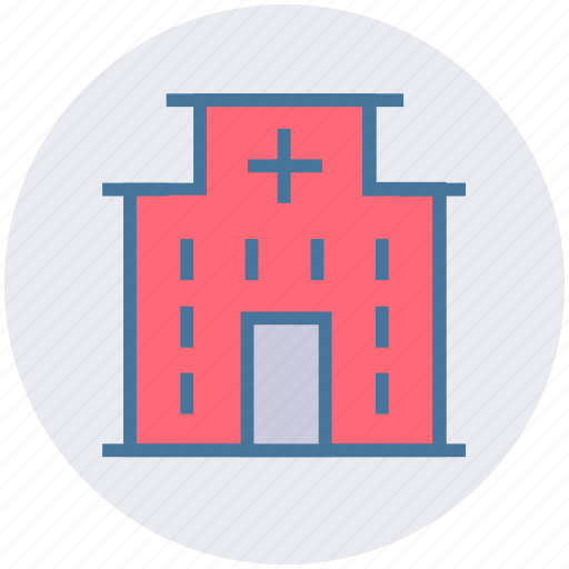 building, cyber, hospital, medical, security icon