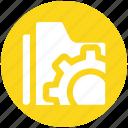 folder, folder settings, options, preferences, settings icon