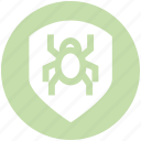 antivirus, bug, protection, security, shield