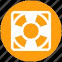 lifebelt, lifebuoy, lifeguard, lifesaver, safety, security icon