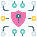 network, cyber, security, hacker, privacy, protection, secure icon