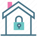 doors, guard, home, lock, protection, security, window icon