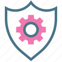 accounts, category, check, login, privacy, security, settings icon