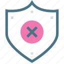 defense, guard, military, protection, safety, shield, threat icon
