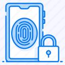 fingerprint lock, mobile protection, mobile security, secure smartphone, thumb lock