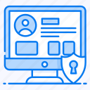 personal data authentication, personal data privacy, personal data protection, personal data security, system security